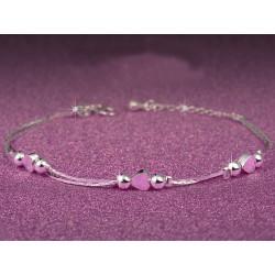 Silver 925 Heart Bracelet