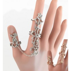 Double Finger Rings with...