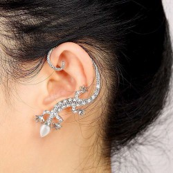 Lizard (Gecko) Eearring for...