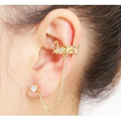 Left-Ear Love Earring
