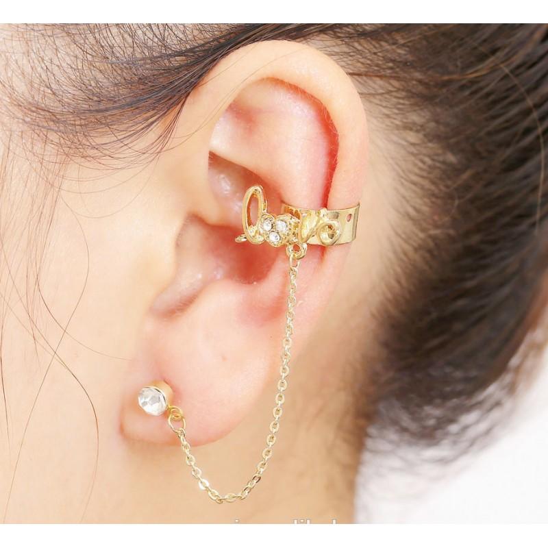 Left Ear Love Earring