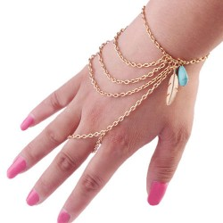 Golden Bracelet Chain...