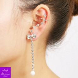 Left-Ear Silver Earring...