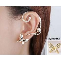 Golden Butterfly Earrings...
